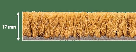 epaisseur tapis coco brosse