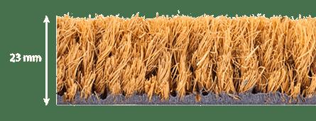 épaisseur tapis brosse coco